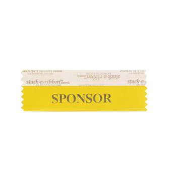 SPONSOR Stack-A-Ribbon®
