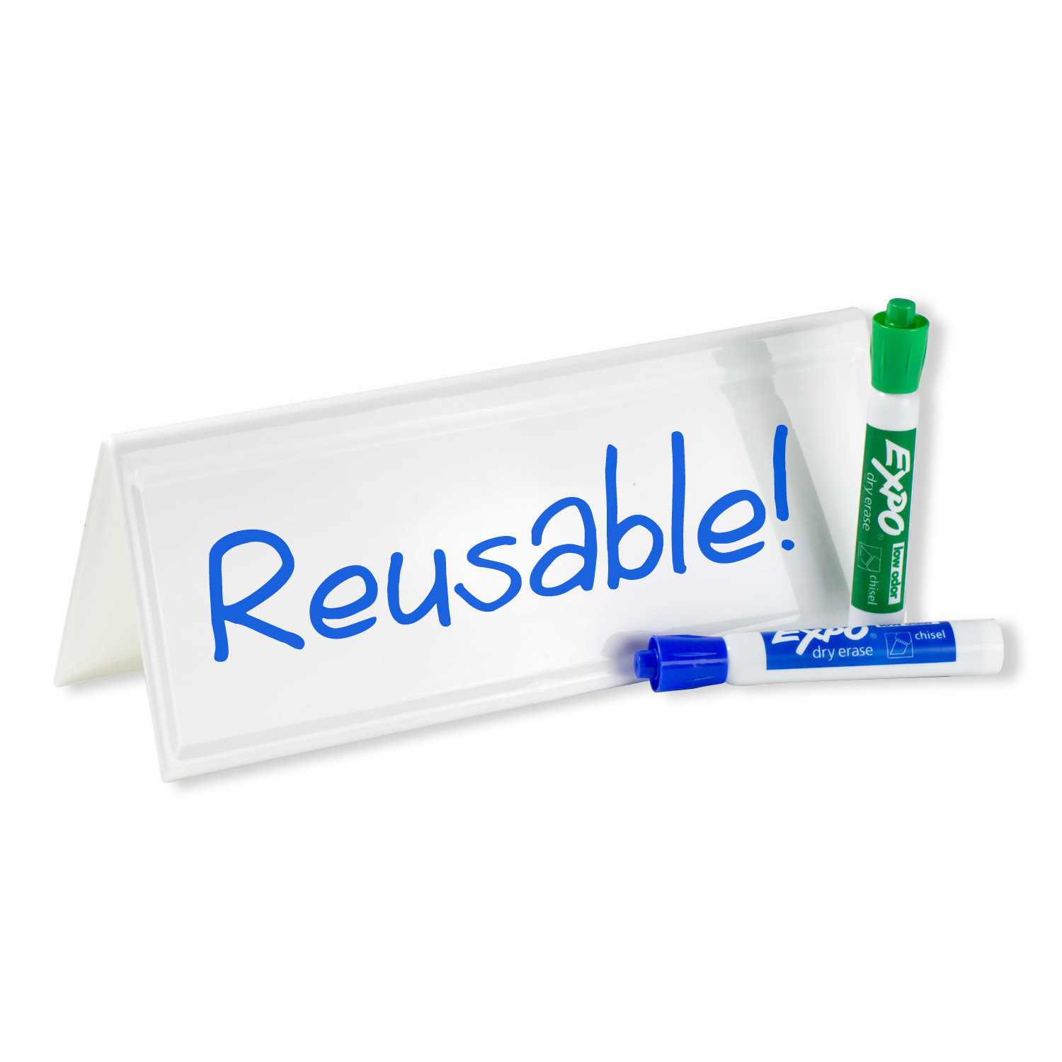 Dry Erase Nametent 11 Quot X 4 Quot Pack Of 1 Ddrnt Pc Nametag